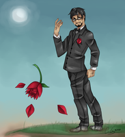 Achievement Hunter- Ray Narvaez Jr. by TheCorChan