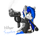 Hitmare Sapphire (Remastered) by KenFKol