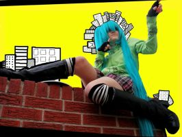 Guitar Strings are Noodles by FruityCosplayers