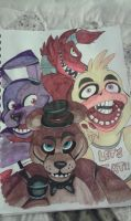 Five nights at freddys by Mariatiger