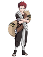 Gaara PTS 3rd Render by xUzumaki