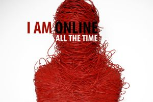 I Am Online All The Time by marta-krol