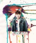 Xiumin - One More [Version 2 - Watercolour] by GenieDesigner