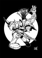 Green arrow for coloring by jamce
