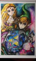 Legend of Zelda Ocarina of Time Art by FairyFaily