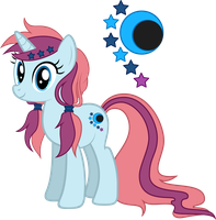 MLP:FiM - [Ponysona] Eclipse Chaser (requested) by StargazeSchrecken1
