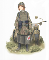 Unterscharfuhrer 1943 - Colored by The-King-in-Grey
