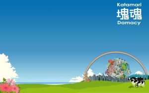 My widescreen katamari by Alzarys