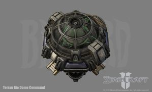 SC2: Terran Bio Dome Command by PhillGonzo