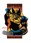 Wolverine in Illustrator CS6 + Colors! by Montotus