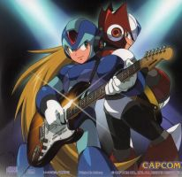 Megaman X rock by CHAMPs2