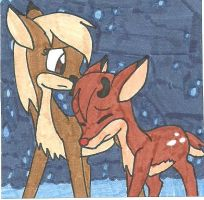 'It's so cold...' by cmara
