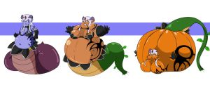 Monsters and Pumpkins by DaemonKing