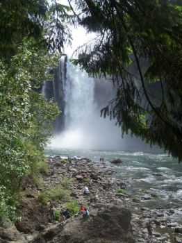 seattle waterfall by Sum140
