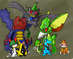 PMD Team Group Portrait by TheChaosController