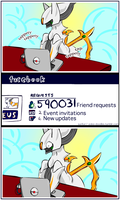 Arceus: Friend requests by Sunfur