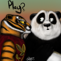 Kung fu Playtime by fabman132