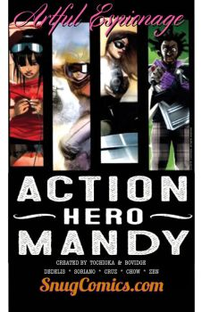 Action Hero Mandy is Only on SnugComics.com! by snugwork