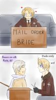 America's mail order bride by pickleduck3