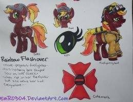 Commission: Rainbow Flashover by EmR0304