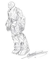 The Ultimates_Iron Man by DF16