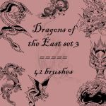 Dragons of the East 3 by rL-Brushes