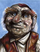 Hoggle 5 x 7 by AshleighPopplewell