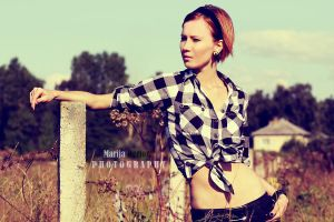 Countryside Girl by MarijaBerjoza