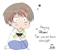 Okami Obsessed Much? xD by RyuichiFoxe
