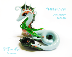 Thalassa, Sea Spirit Dragon by rosepeonie