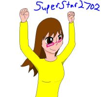 SuperStar2702 practice Paint by Baylor-The-Pikachu
