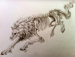 Undead Wolf by Lucky978