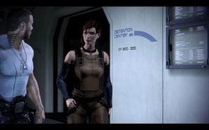 Mass Effect 3 - Female Casual Outfit 1 by Revan654