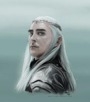 Thranduil Greenleaf by murrl