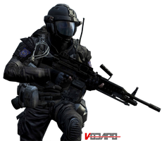 Call of Duty: Black Ops 2 - HD Render #2 by Vodapo