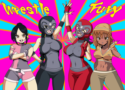 Wrestle Fury: Path to Gold by Glee-chan