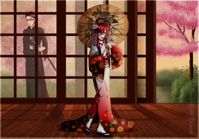 Crimson Geisha by SweetLittleVampire