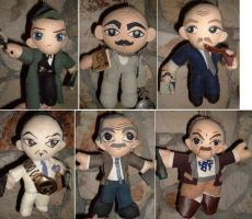 Great Detectives Plushie Set by SetsunaKou