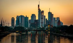 Frankfurt am Main Skyline by EmmmBeee