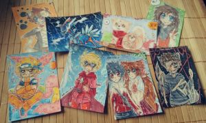 Many new Nadi Cards by Nadi-Chan