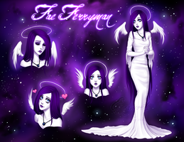 Fae character sheet by Enamorte
