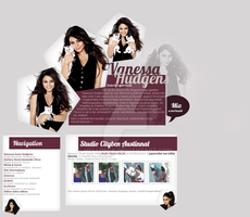 2012 summer 'Pentagonessa' layout with Vanessa by hellomia