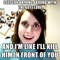 Overly attached girlfriend by monley54