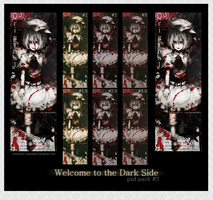 Welcome To The Dark Side PSD + Avatars: Pack #2 by Love-Serendipity