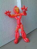 Balloon Ironman by NoOrdinaryBalloonMan