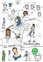 Some Sketches SPO,SW and other by uddelhexe