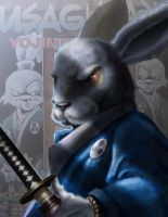 Usagi YoJimbo by Stilltsinc