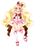 Commission - Sweets Magical Girl by Pyonkotcchi