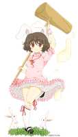 .Pixel -  Tewi Inaba. by lNeko-Hime