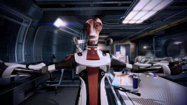 Mordin Solus 04 by johntesh